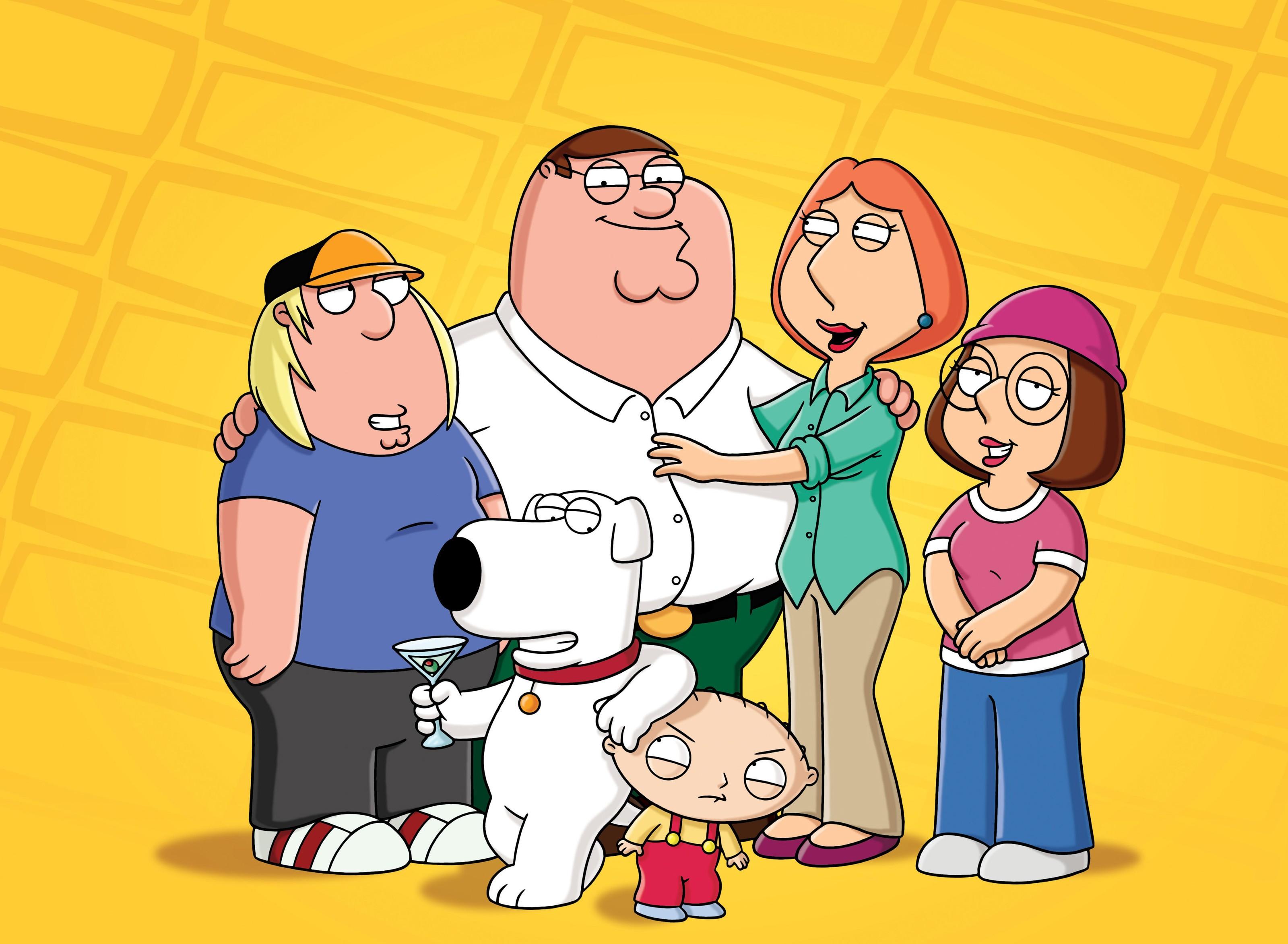 Un wallpaper della famiglia Griffin per la stagione 8