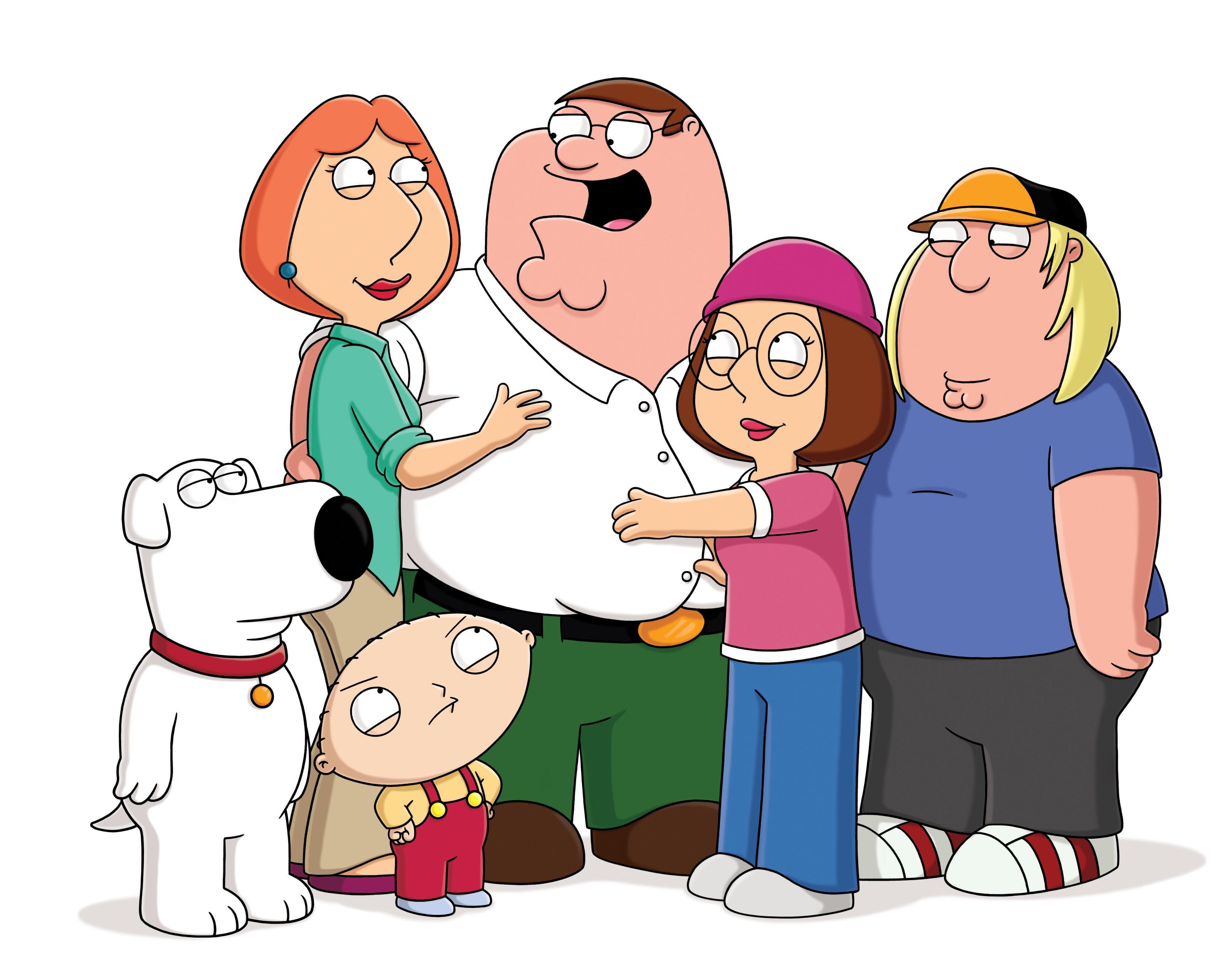 Un wallpaper della famiglia Griffin per la stagione 9