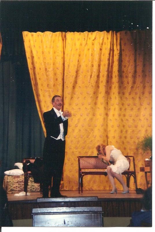 Federico Fumo a teatro con \'Paura de Ciaparle\'