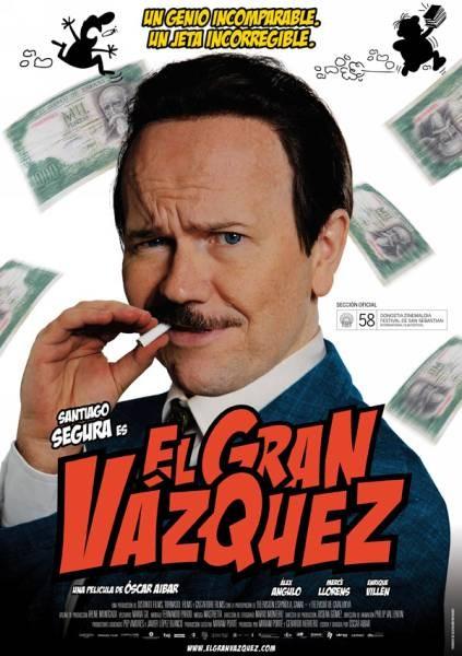 La locandina di El Gran Vázquez