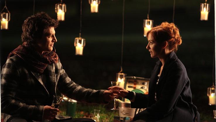 Andrea Bosca e Camilla Filippi nel film Febbre da fieno