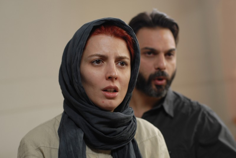 Leila Hatami e Peyman Moadi in Nader And Simin, A Separation