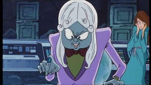 Mamoo in una scena del film Lupin III - La Pietra della Saggezza