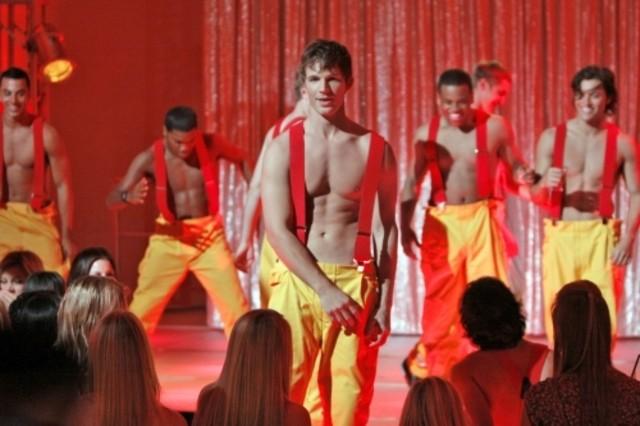 Matt Lanter nell'episodio The Bachelors di 90210