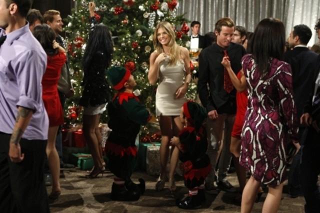 Una scena dell'episodio Holiday Madness di 90210