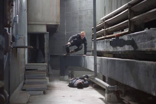 Ben Foster in una scena di The Mechanic