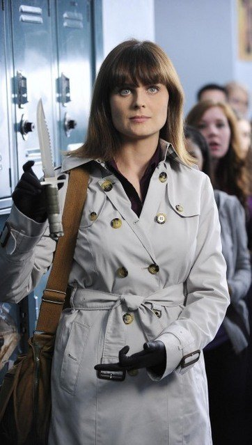 Bones: Emily Deschanel nell'episodio The Twisted Bones in the Melted Truck