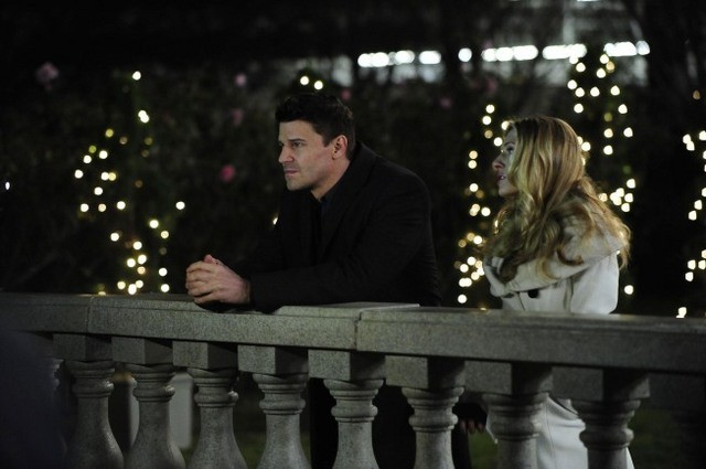 David Boreanaz e Katheryn Winnick nell'episodio The Daredevil in the Mold di Bones