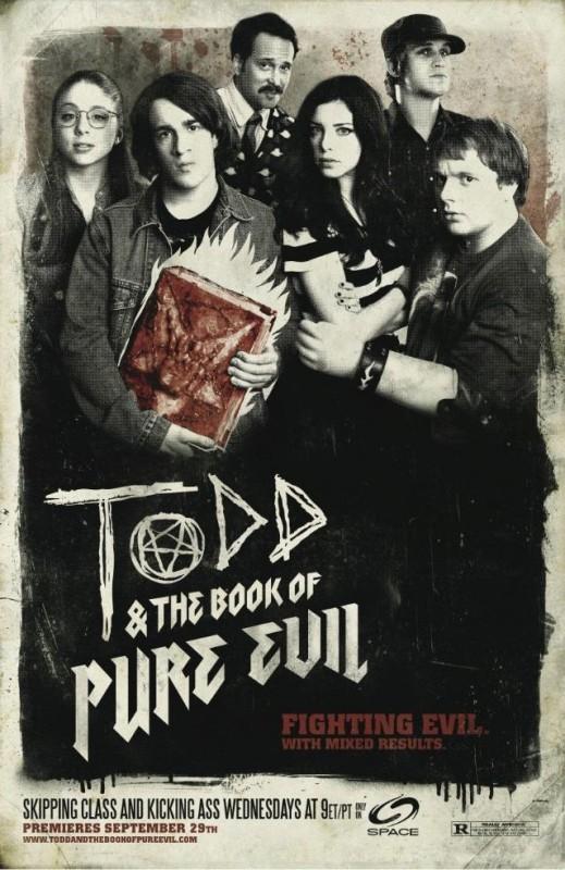 La locandina di Todd and the Book of Pure Evil