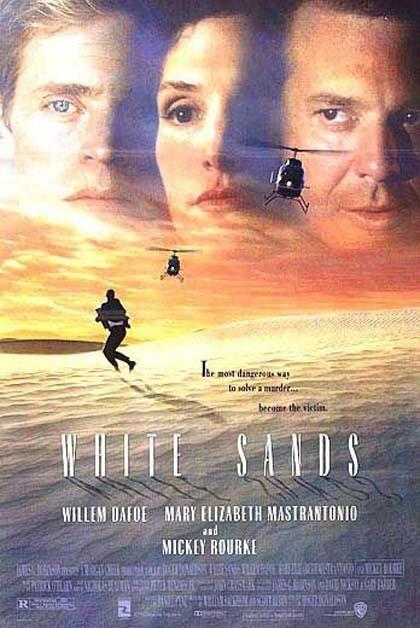 La locandina di White Sands - Tracce nella sabbia