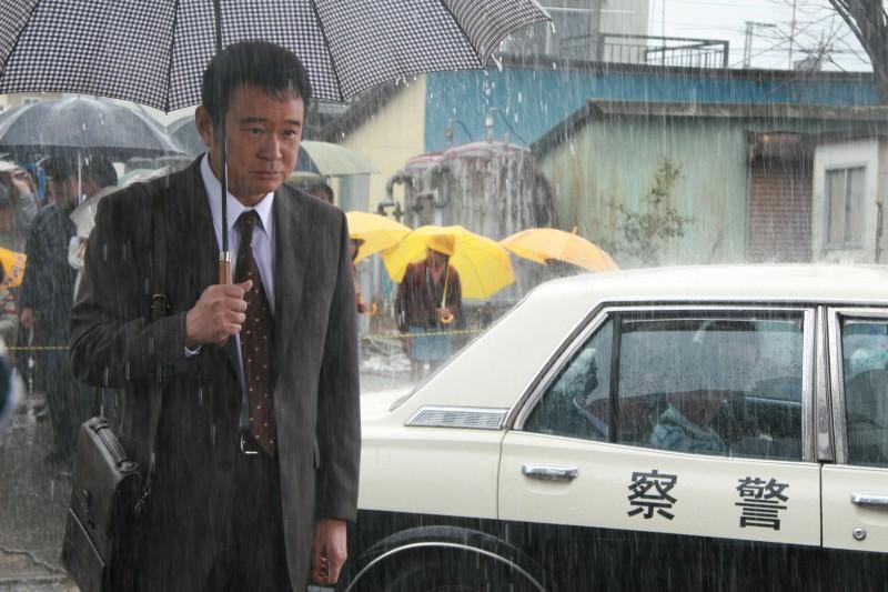 Junzou Sasagaki nel film giapponese Into the White Night