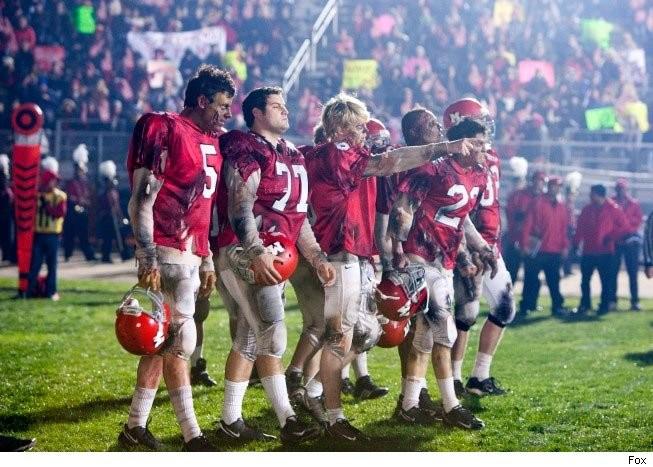 Un momento dell'episodio del Super Bowl di Glee