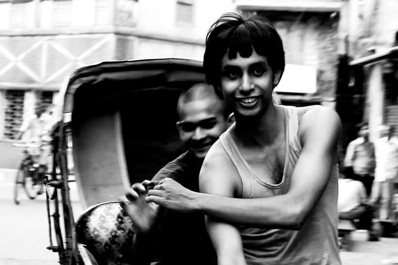 Una bella immagine del film Gandu (Asshole)