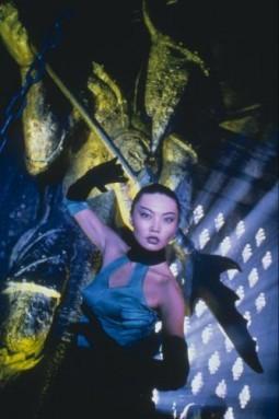 Una sensuale Irina Pantaeva in Mortal Kombat - Distruzione totale