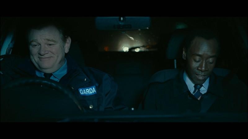 Brendan Gleeson e Don Cheadle nel film The Guard
