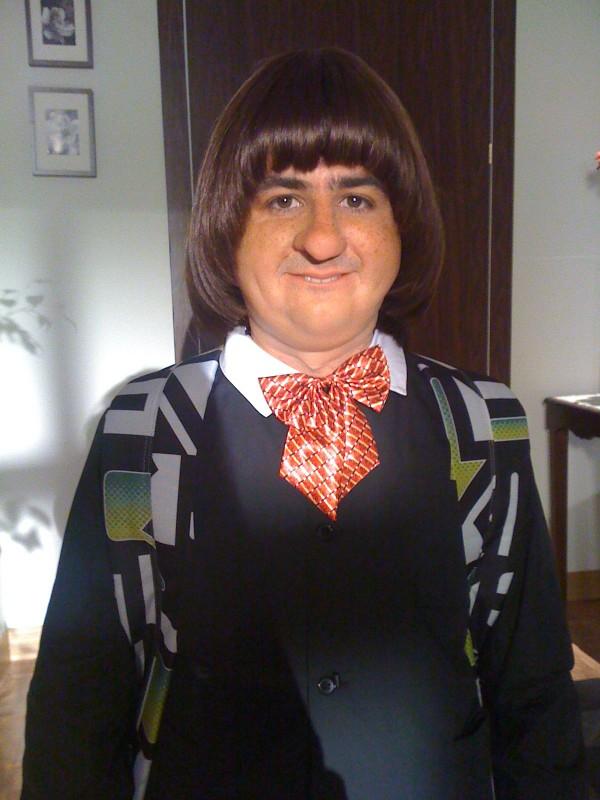 Francesco Mandelli in una foto promozionale per lo show I soliti idioti