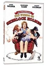 La copertina di Il fratello più furbo di Sherlock Holmes (dvd)