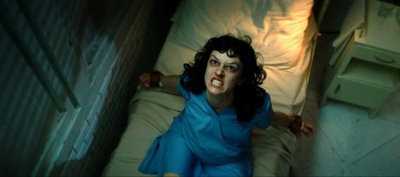 Marta Gastini in una scena del film The Rite