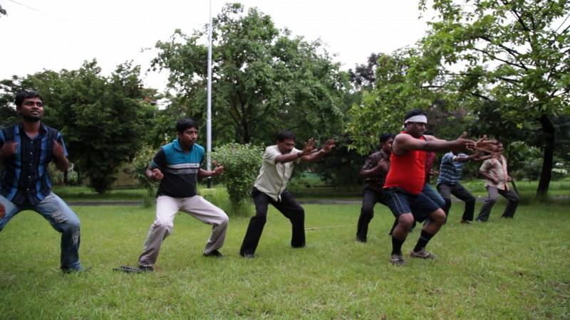 Una scena del documentario The Bengali Detective