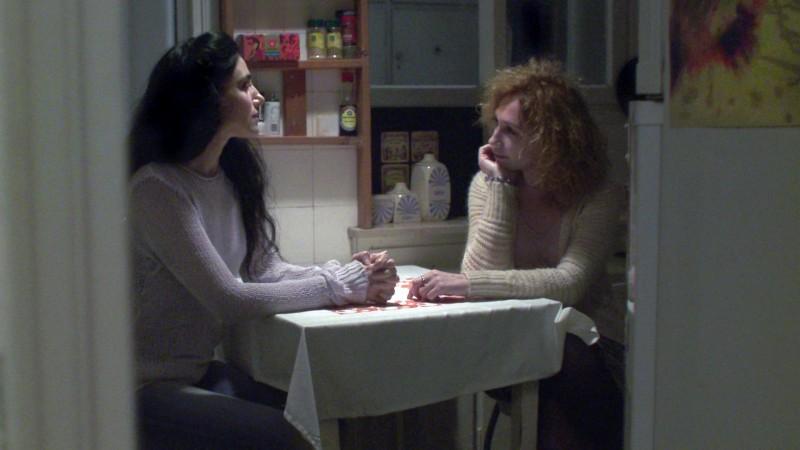 Una scena del film Invisible (Lo Roim Alaich)