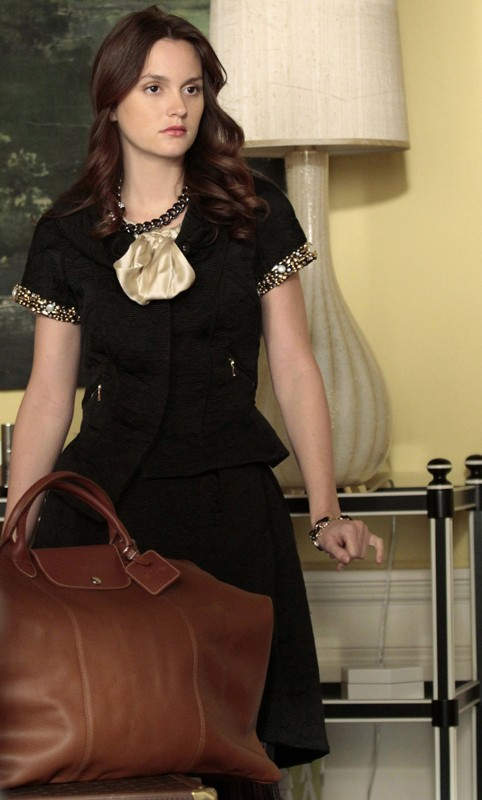 B (Leighton Meester) nell'episodio The Kids Are Not Alright di Gossip Girl