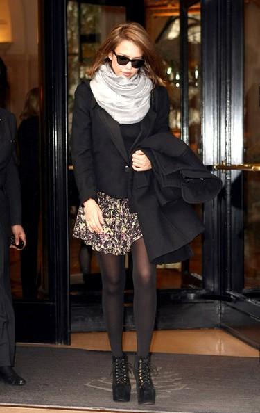 Jessica Alba a Parigi