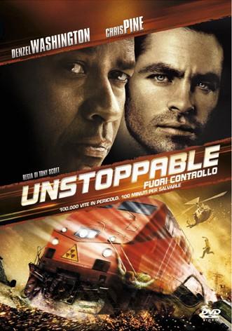 La copertina di Unstoppable - Fuori controllo (dvd)