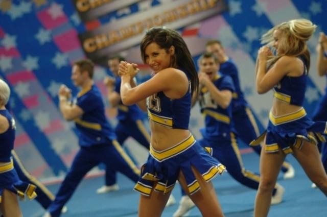 Ashley Tisdale in una scena dell'episodio Papa, Oh Papa di Hellcats