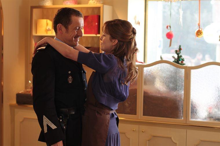 Dany Boon e Julie Bernard in una sequenza della commedia Rien à déclarer