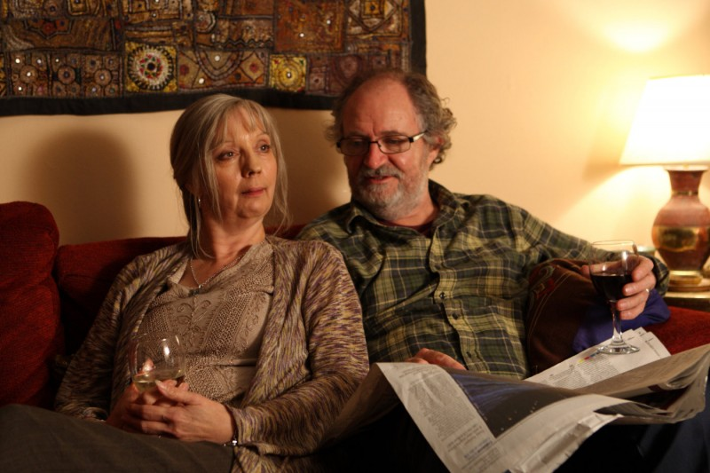 Jim Broadbent e Ruth Sheen in una immagine del film Another Year