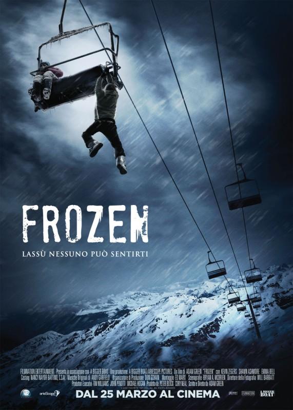 La locandina italiana di Frozen