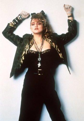 Madonna in una foto promo di Cercasi Susan disperatamente