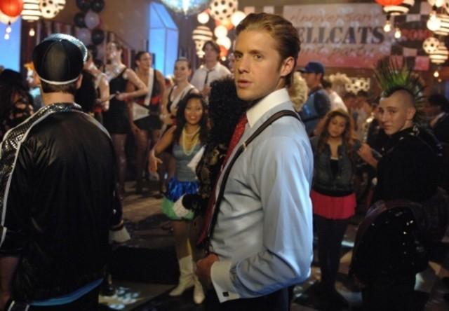 Matt Barr nell'episodio Back of a Car di Hellcats