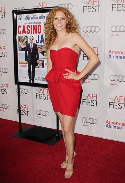 Rachelle Lefevre ad una premiere di Casino Jack