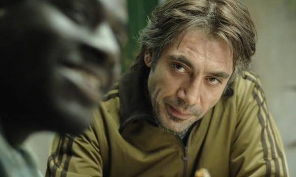 Una immagine di Javier Bardem dal film Biutiful