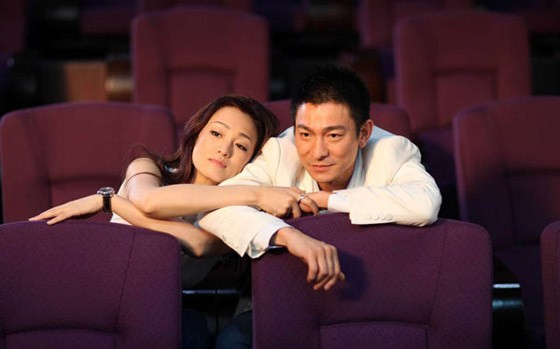 Andy Lau e Gong Li, protagonisti del film I Know a Woman's Heart