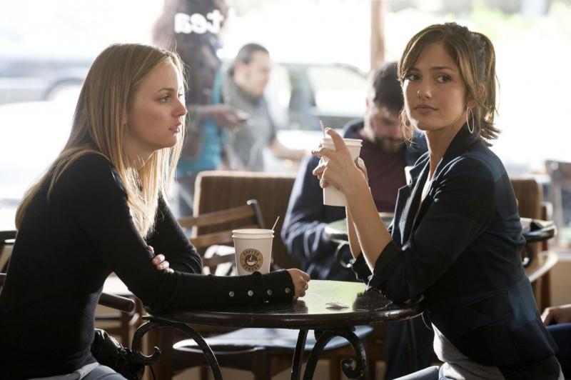 Leighton Meester e Minka Kelly in una scena del film The Roommate