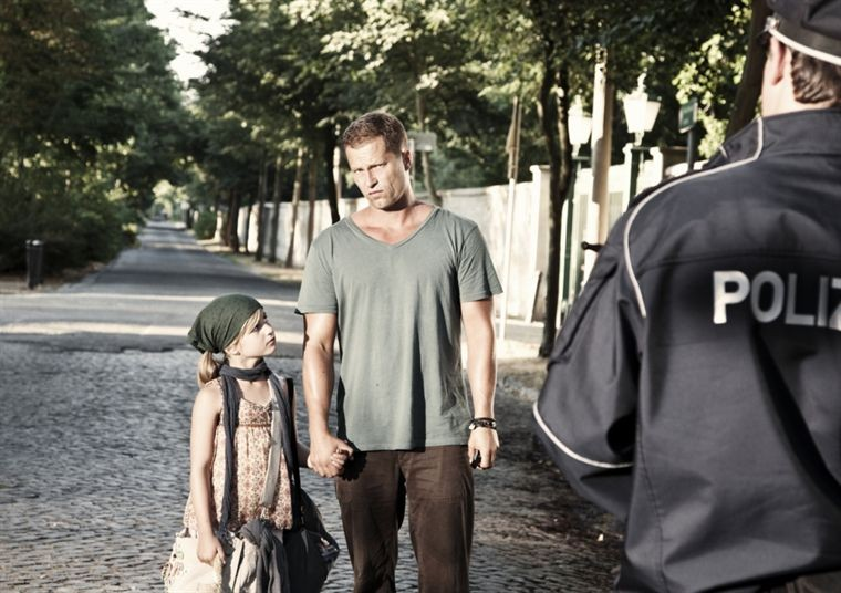 Til Schweiger con la figlia Emma nella commedia Kokowääh