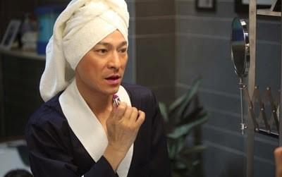Una divertente immagine di Andy Lau dal film I Know a Woman's Heart