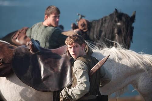 Jamie Bell in una scena del film The Eagle of the Ninth