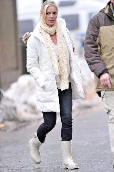 Katherine Heigl lascia il set di New York