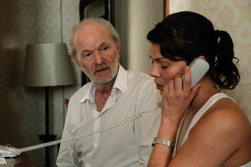 Michael Gwisdek con Jessica Schwarz nel film Das Lied in mir