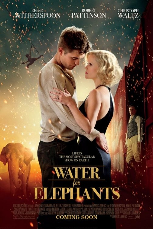 Poster internazionale per Water for Elephants