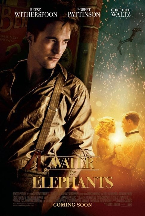 Character Poster per Water for Elephants - Robert Pattinson