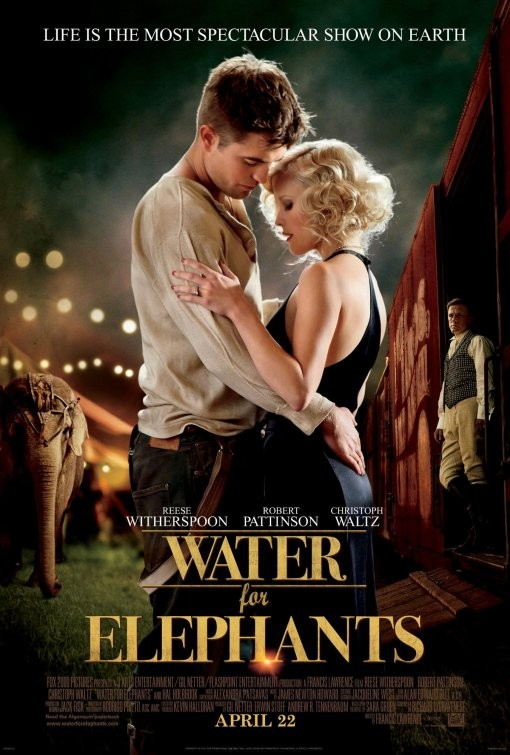 Poster USA per Water for Elephants