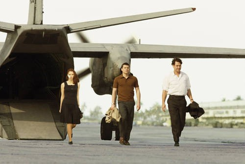 Jessica Chastain, Sam Worthington e Marton Csokas nel film Il debito