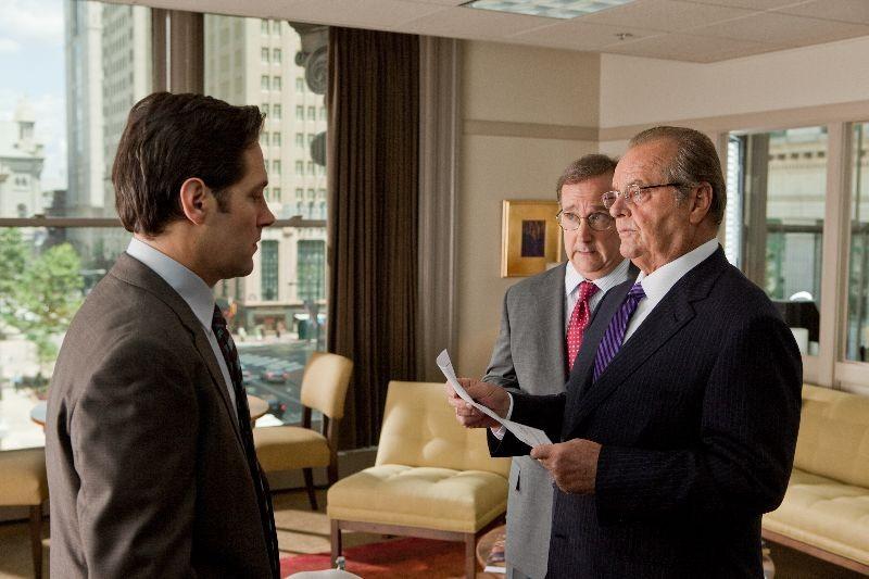 Jack Nicholson e Paul Rudd nei panni di padre e figlio nella commedia Come lo sai