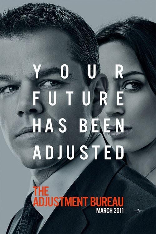 Nuovo poster USA per The Adjustment Bureau