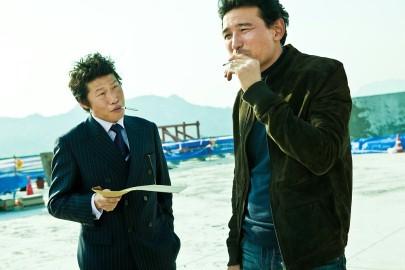 Una scena del thriller coreano The Unjust