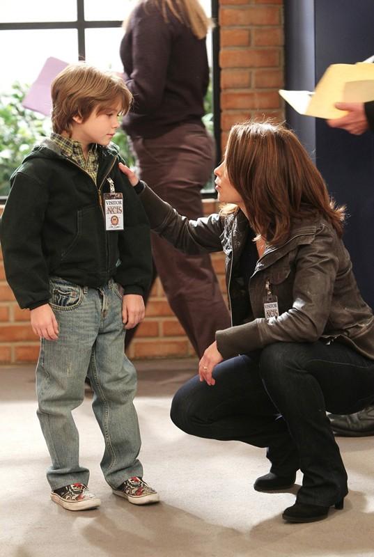Georgia Wooten (Christina Cox) in una scena dell'episodio Freedom di NCIS